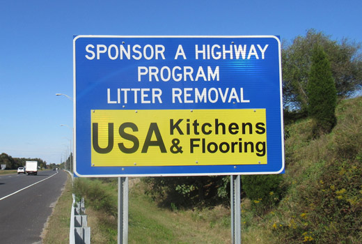 USA Kitchens & Flooring - Adopt A Highway