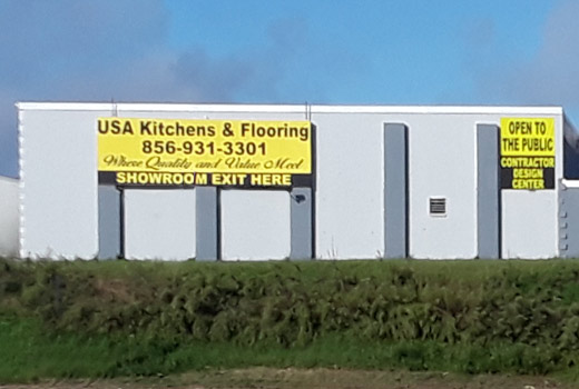 USA Kitchens and Flooring - Building Facade