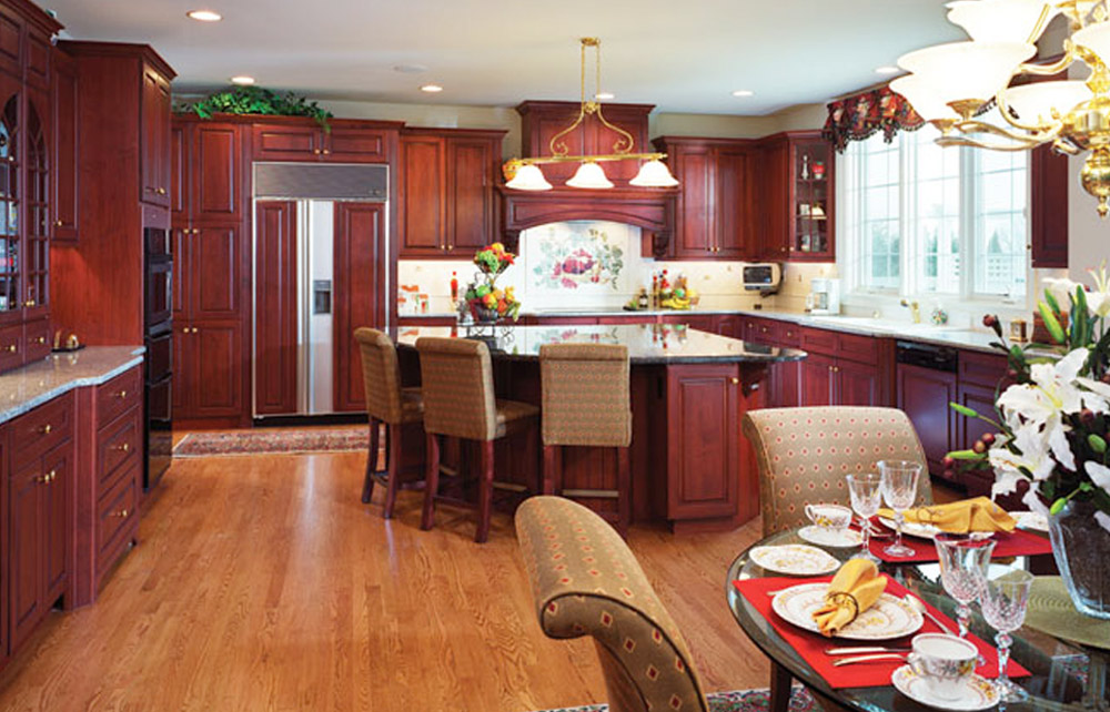 Century Kitchens - Red Cabinets