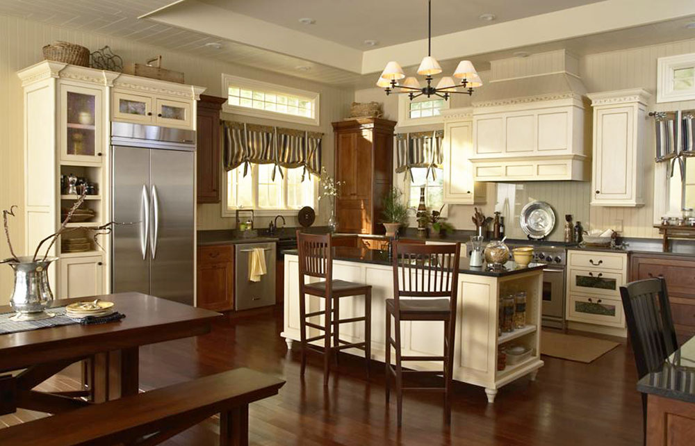 Medallion Cabinetry - Santa Cruz Cream Cabinbets