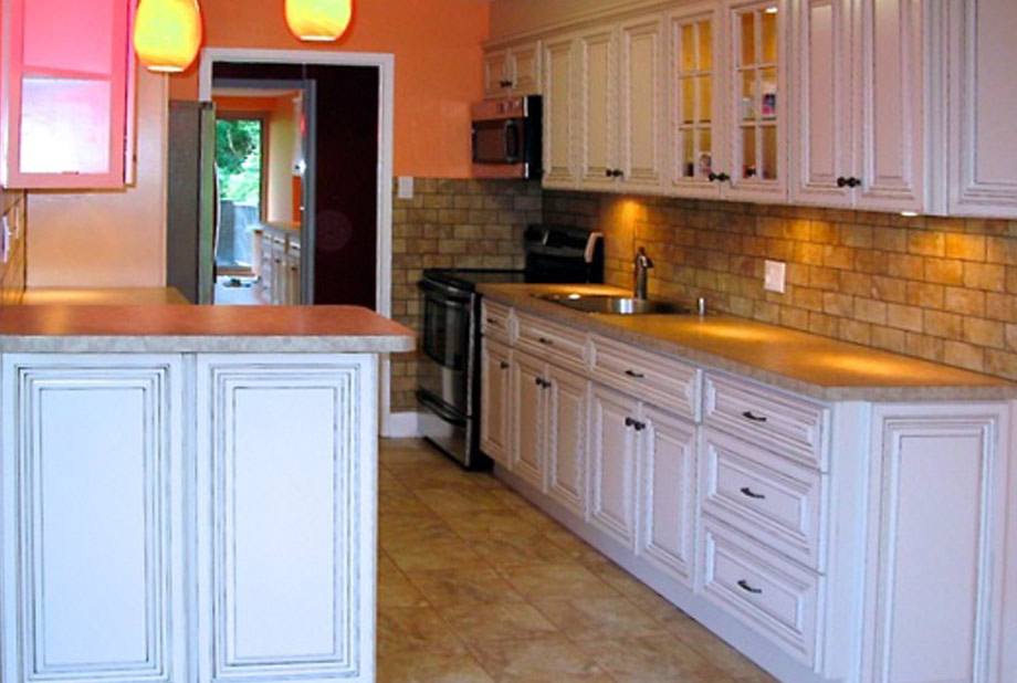 My Design Cabinetry Vanilla Glaze Kitchen Cabinets