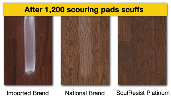 Scuf Resist Hardwood Flooring